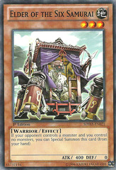 Elder of the Six Samurai - SDWA-EN021 - Common - 1st Edition on Channel Fireball