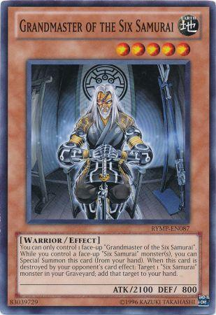 Grandmaster of the Six Samurai - RYMP-EN087 - Common - Unlimited Edition