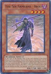 The Six Samurai - Irou - RYMP-EN093 - Ultra Rare - Unlimited Edition