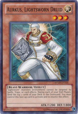 Aurkus, Lightsworn Druid - RYMP-EN105 - Common - Unlimited Edition