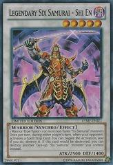 Legendary Six Samurai - Shi En - RYMP-ENSE1 - Super Rare - Limited Edition on Channel Fireball