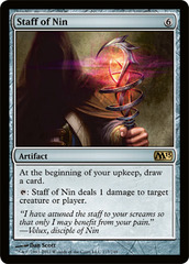 Staff of Nin - Foil