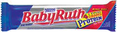 Baby Ruth Candy Bar King Size 3.7oz 18ct