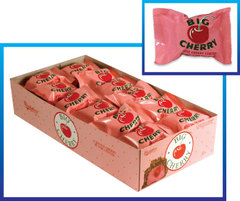 Big Cherry Candy Bar Countgood 24ct