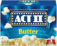ACT 2 Butter Popcorn 3-Pack 12ct