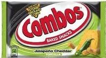 Combos Jalapeno Cheddar Tortilla 18ct
