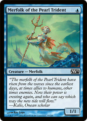 Merfolk of the Pearl Trident - Foil