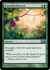 Bountiful Harvest - Foil