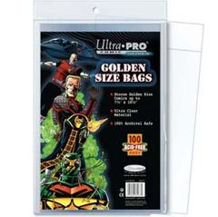 Ultra Pro Comic Bags Golden Size 7-3/4