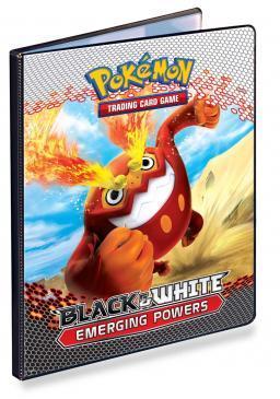 Black & White Gen 2 9-Pocket Portfolio for Pokemon