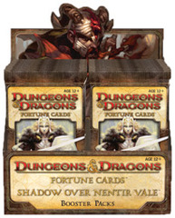 Dungeons & Dragons Fortune Cards Shadow Over Nentir Vale Booster Box (24 Packs)