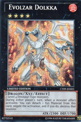 Evolzar Dolkka - CT09-EN001 - Secret Rare - Limited Edition - Promo
