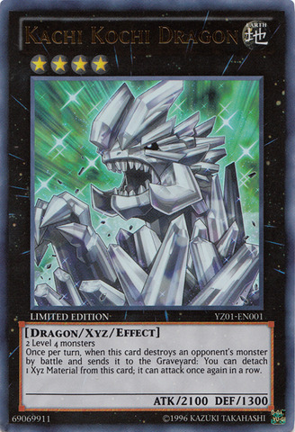 Kachi Kochi Dragon - YZ01-EN001 - Ultra Rare - Limited Edition