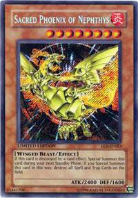 Sacred Phoenix of Nephthys - EEN-ENSE3 - Secret Rare - Limited Edition