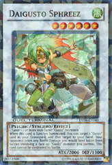 Daigusto Sphreez - DT06-EN040 - Super Parallel Rare - Duel Terminal on Channel Fireball
