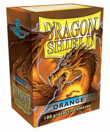 Dragon Shield Box of 100 in Orange