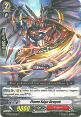Flame-Edge Dragon - BT03/076EN - C on Channel Fireball