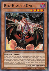 Red-Headed Oni - GAOV-EN038 - Common - Unlimited Edition