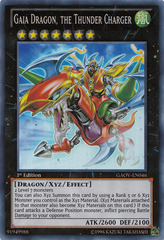 Gaia Dragon, the Thunder Charger - GAOV-EN046 - Super Rare - Unlimited Edition
