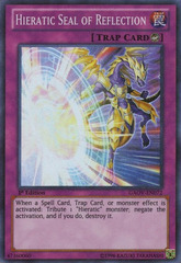 Hieratic Seal of Reflection - GAOV-EN072 - Super Rare - Unlimited Edition