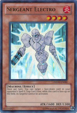 Sergeant Electro - PHSW-EN090 - Ultimate Rare - Unlimited Edition