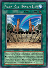 Ancient City - Rainbow Ruins - FOTB-EN045 - Rare - 1st Edition on Channel Fireball