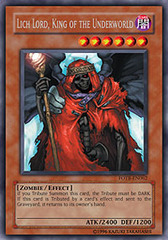 Lich Lord, King of the Underworld - FOTB-EN062 - Secret Rare - 1st Edition