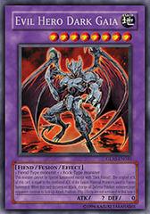Evil Hero Dark Gaia - GLAS-EN040 - Rare - 1st Edition