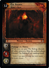The Balrog, Durin's Bane - Foil