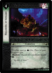 Hollowing of Isengard - Foil
