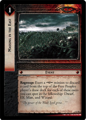 Massing in the East - Foil