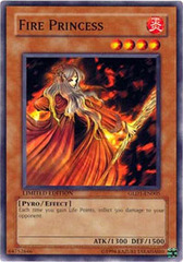 Fire Princess - GLD1-EN005 - Common - Limited Edition on Channel Fireball