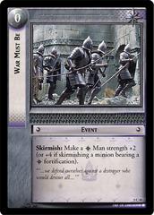 War Must Be - Foil