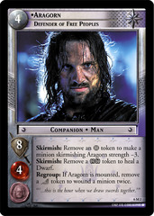 Aragorn, Defender of Free Peoples - 6M2 - Oversized - Foil