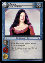 Arwen, Fair Elf Maiden - 7R16 - Foil