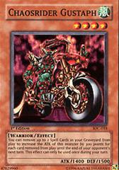 Chaosrider Gustaph - IOC-018 - Super Rare - 1st Edition