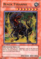 Black Tyranno - IOC-075 - Ultra Rare - 1st Edition