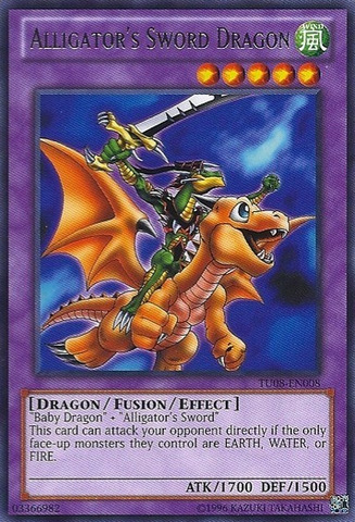 Alligators Sword Dragon - TU08-EN008 - Rare - Unlimited Edition