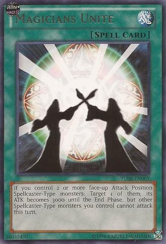 Magicians Unite - TU08-EN009 - Rare - Unlimited Edition