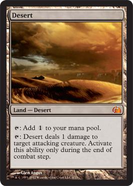 Desert - Foil