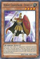 Heroic Challenger - Spartan - REDU-EN005 - Common - 1st Edition