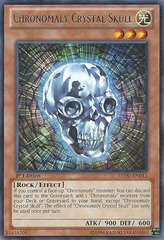 Chronomaly Crystal Skull - REDU-EN013 - Rare - 1st Edition on Channel Fireball
