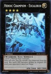 Heroic Champion - Excalibur - REDU-EN041 - Ghost Rare - 1st Edition