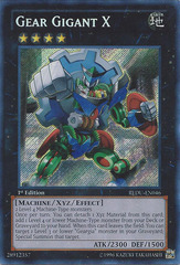 Gear Gigant X - REDU-EN046 - Secret Rare - 1st Edition