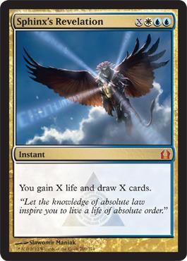 Sphinx's Revelation - Foil