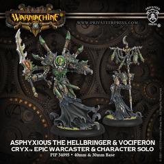 Asphyxious the Hellbringer & Vociferon - Warcaster & Solo