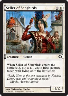 Seller of Songbirds - Foil