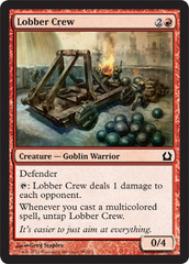 Lobber Crew - Foil on Channel Fireball