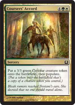 Coursers Accord - Foil