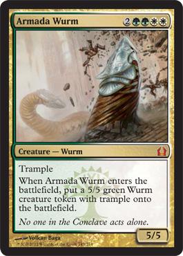 Armada Wurm - Foil